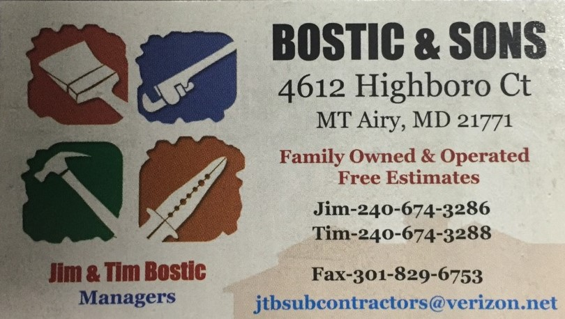 Bostic & Sons